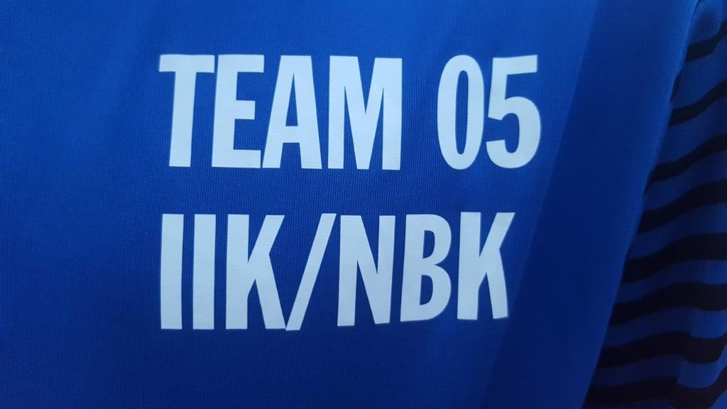 IIK/NBK Team P05 på Eskilscupen