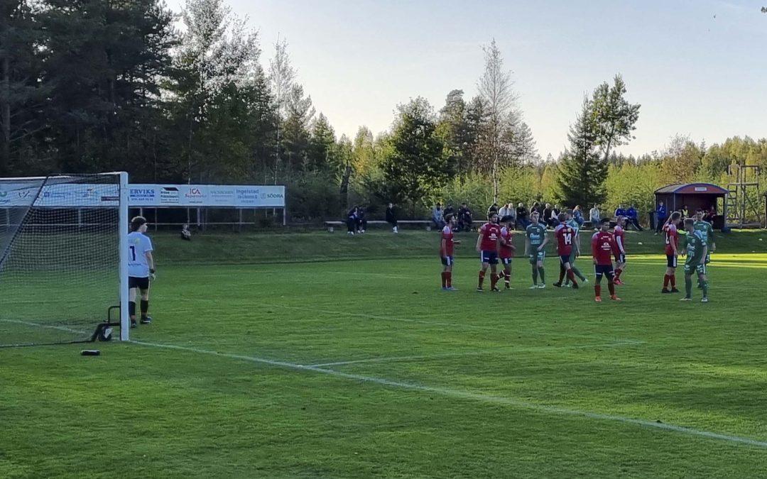 Referat: Ingelstad IK – Gransholms IF 1-2 (0-1)